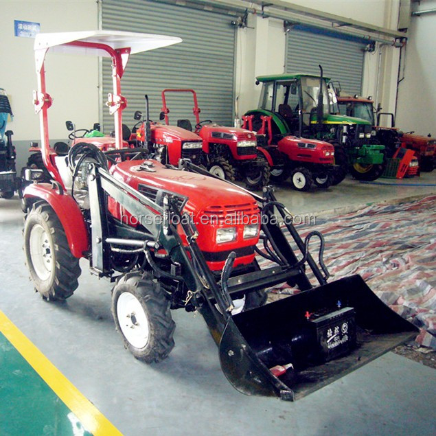 Jm 164y Jinma 16hp 4wd Garden Tractor Front End Loader