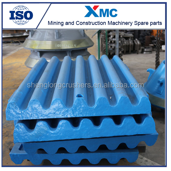 high manganese steel jaw plate , bowl liner and mantle , blow bar