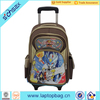 Fashion convenient kids trolley school bag