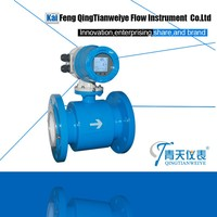Syrup magnetic inductive flow meter