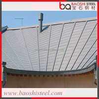 Baoshi Steel anticorrosion heat proof 2mm corrugated sheet metal roofing rolls