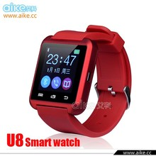 2016 New Bluetooth Smart Watch U8 WristWatch U8 Watch for iPhone 5S Samsung S4/Note 2/Note 3 Android Phone Smartphones