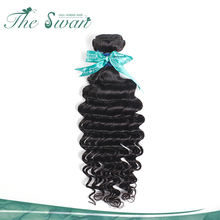 Swan wholesale 9A grade brazilian curly 100% human hair extension in brazil