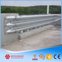 ADTO Group Low Cost Highway Corrugated Flex W Beam Guardrail Driveway Barrier Road Safety Guard Rail Accessories For Sale