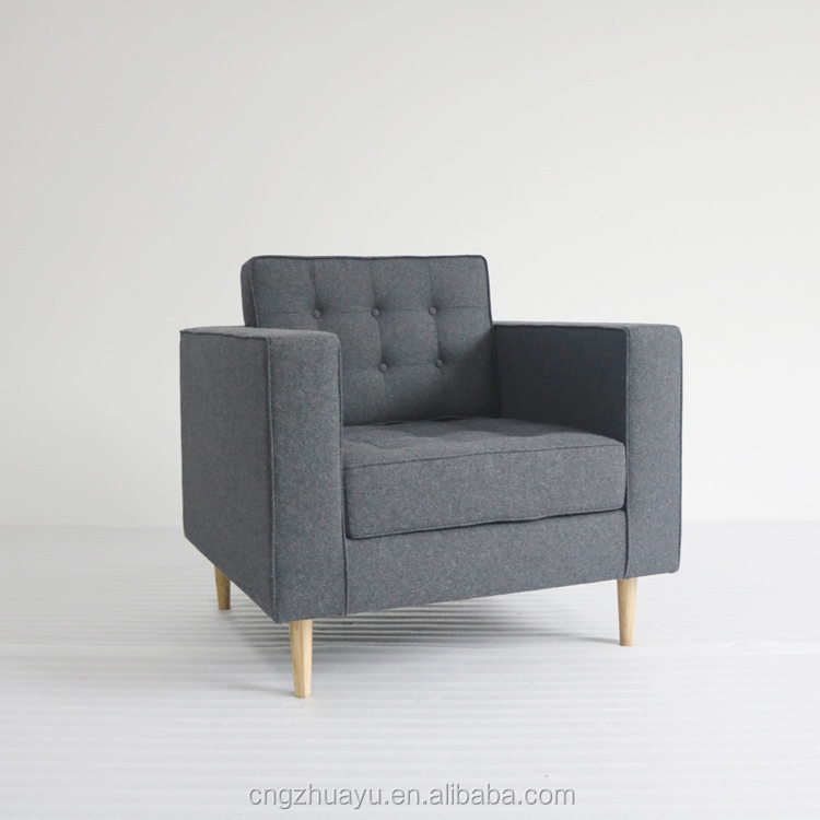 Living Room Used Wooden Leg Sofa Set   Buy Wooden Armchair,Wooden Leg  Armchair,Wooden Sofa Product On Alibaba.com