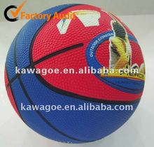 Mini Rubber basketball no 5