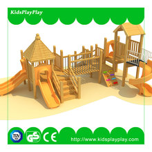 PVC sponge and wooden strips Material and outdoor Playground Type soft play equipment