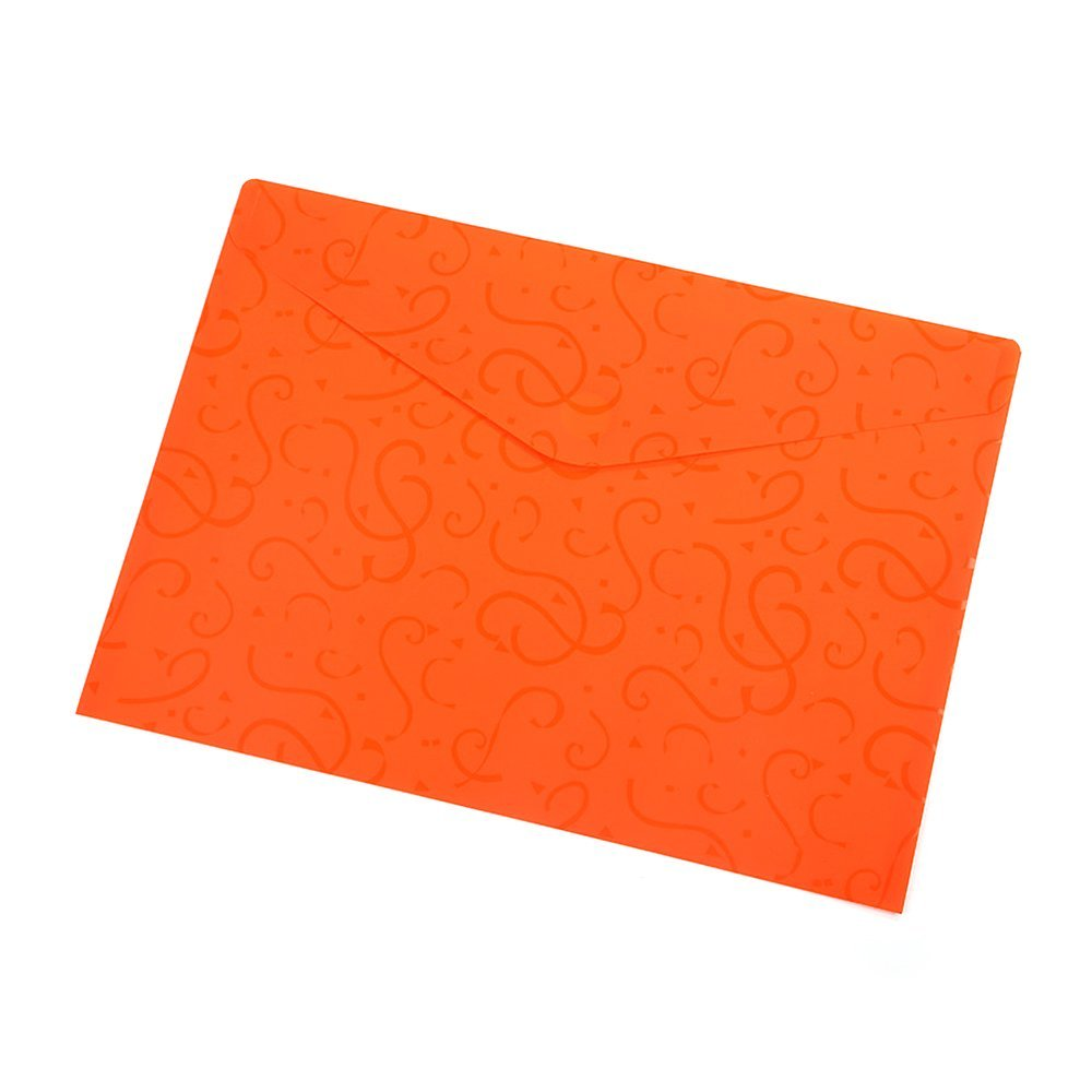 A4 File Folders Plastic Poly Envelope