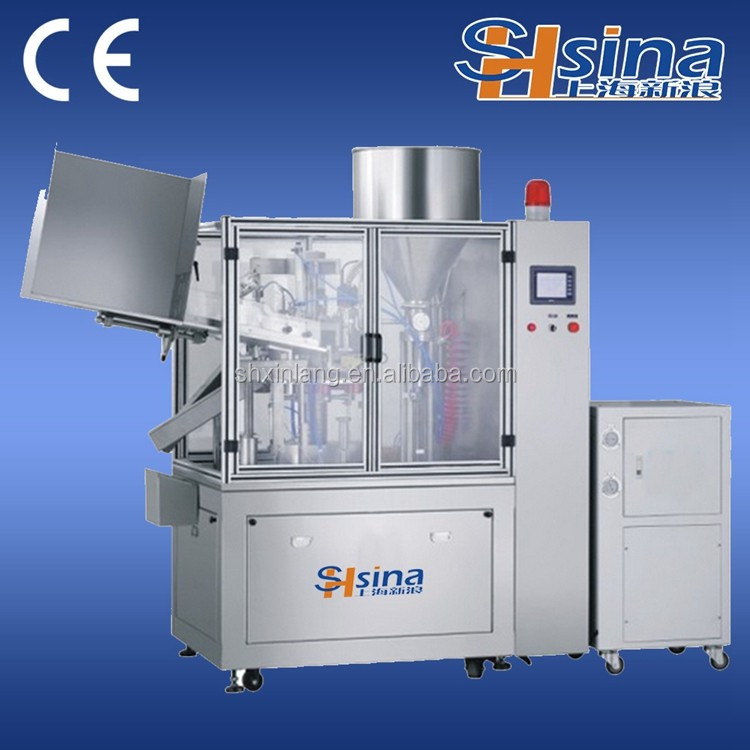 2017 New Arrival Aluminum Composite Tube Filling And Sealing Machine