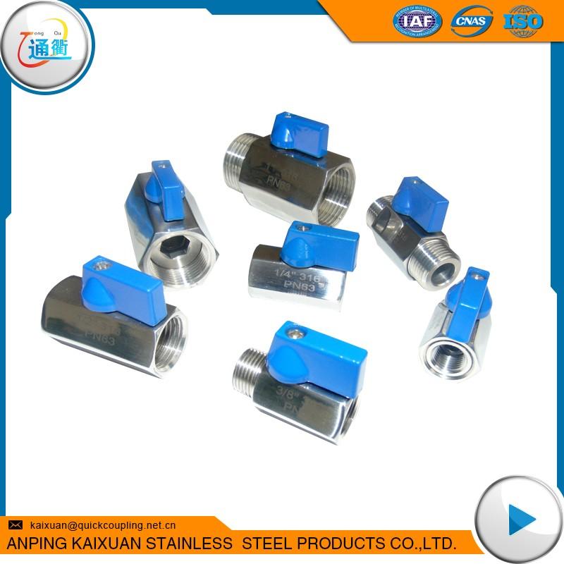stainless steel mini ball valve