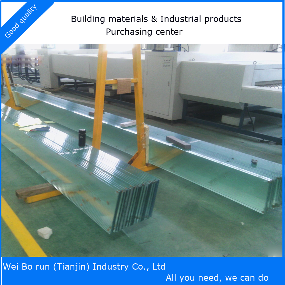 High quality safety Laminated Glass for stairs for sale