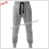 Causal Cotton/Polyester Elastic Waist Drawstring Gym Sport Sweat Mens Pants Joggers