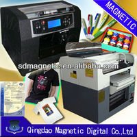 A4 size multifunctional R230 solvent flatbed printer