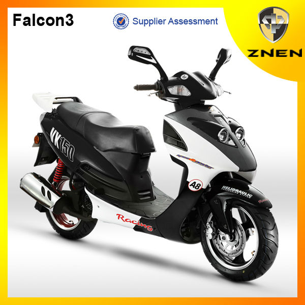 2017 year The new Generation Euro 4 125CC certificate Gas powered moped scooter with nice apperance