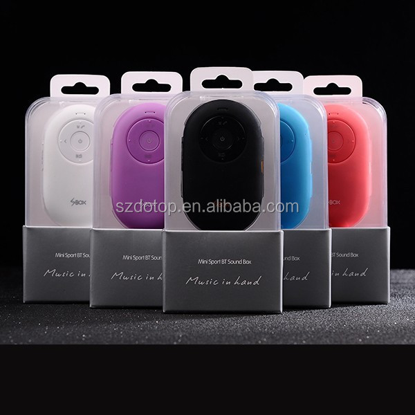 Mini Sport BT Sound Box, Bluetooth Speaker Calling, Bluetooth Camera Selfie for Mobile Phone