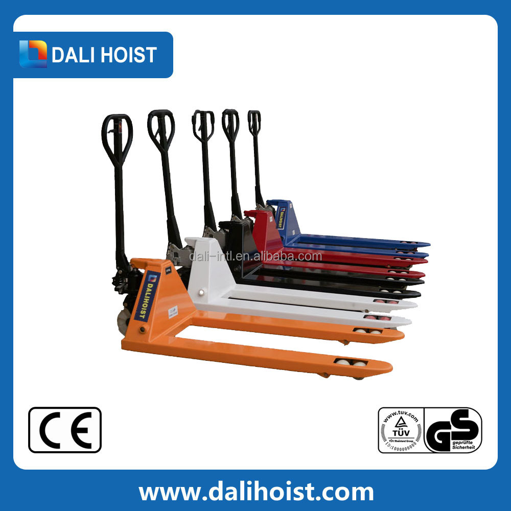 hydraulic pump hand pallet truck lower price battery pallet truck charger for toys dgb