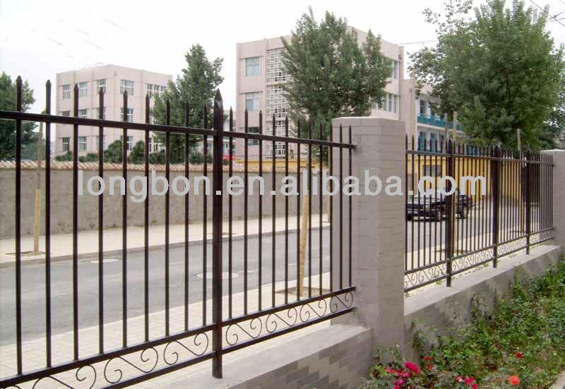 2014 top venta de seguridad jard n cercas hierro forjado - Cercas de hierro ...