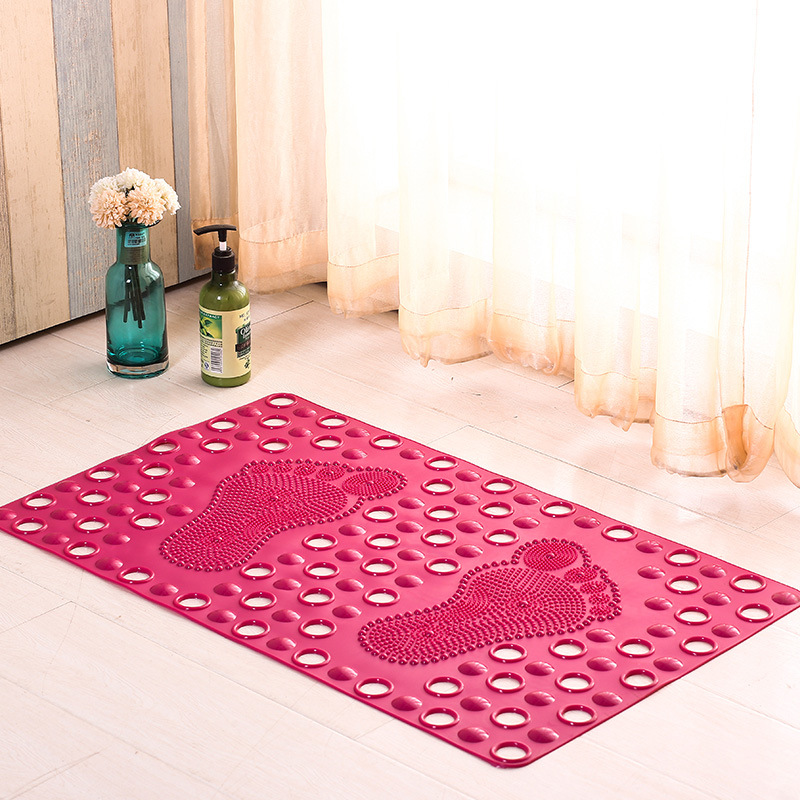 Manufacturers Wholesale anti-slip bathroom carpet Massage mat