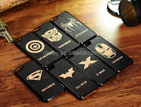 Mobile phone superhero series PC back protective cases for iPhone4/4S/5/5S