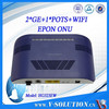 FTTB ONU EPON 2GE+1POT+WIFI GEPON ONU similar as huawei onu hg8242