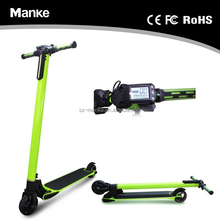 most portability foldable carbon fiber two wheel balance scooter Hot carbon frame two wheel mini electric scooter 250w