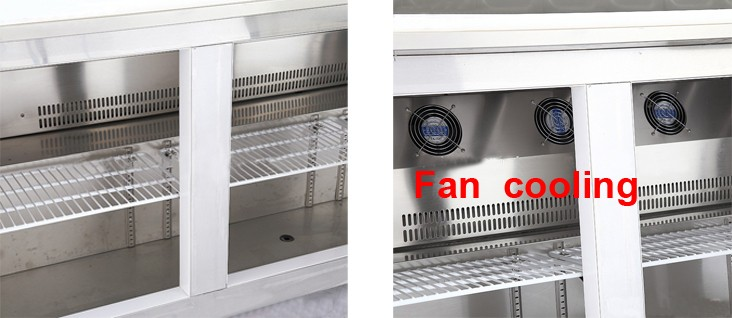 stainless steel new IS-TZR1200 food warmer counter high quality restaurant equipment Can be customized