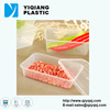 TOP SALES rectangular 500ml disposable microwave plastic food tray