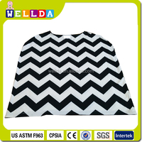 3 in 1stretchy multi-use chevron design nursing cover baby car seat canopy baby car seat cover