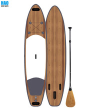 Good Design MSL SUP Wood Grain Inflatable SUP Paddle Board