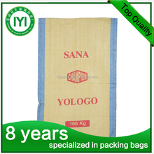 packing grain, animal feed, sugar and flour for PP woven bag