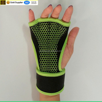 Weightlifting Gloves with Wrist Wrap Support for Gym, Fitness Training