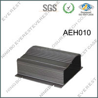 enclosure electronic aluminum 6063 extruded HDD case for PCB
