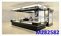 mall kiosk design for jewery watch ring necklace display kiosks
