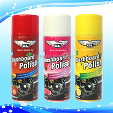 OEM available dashboard polish wax silicone spray wholesale