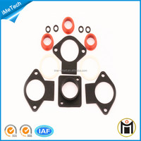Custom design auto/motorcycle spare parts silicone rubber gasket