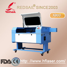 Redsail laser engraving cutting machine /laser engraver 6090 for text