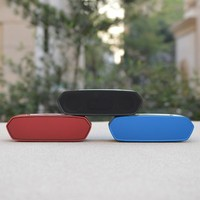 Aluminum Case Bluetooth Portable Mini Speaker With Stereo Sound