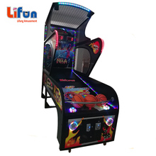 game zone coin operated street basketball arcade game machine