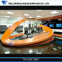 reception desk solid surface reception countertop corian white countertop for reception