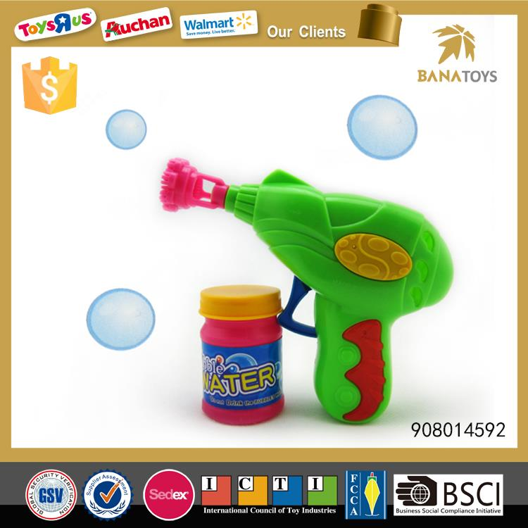 Funny wholesale bubble gun for kids
