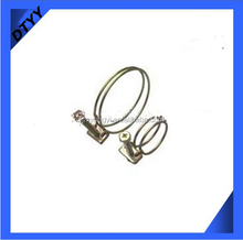 Manufacturer Sale 34-38mm SUS201Stainless Steel Double Wire Glass Connectors Clamp