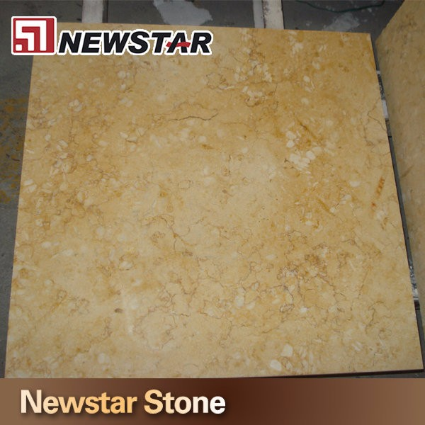 Newstar Best Quality Sunny Yellow Marble Stone Floor Tile