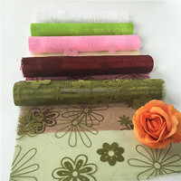 Flocking Organza for Artificial Flower Packing