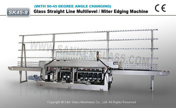Glass Machine Multilevel Glass Edging Machine for Sale