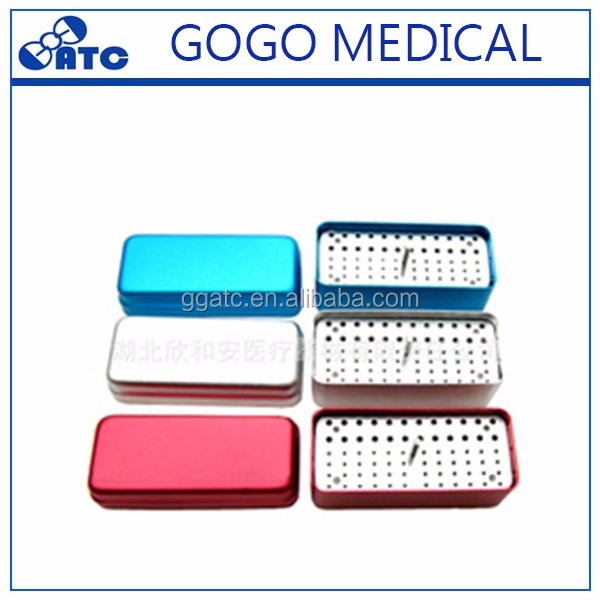 Hot sale for dental burs disinfection storage box in good price