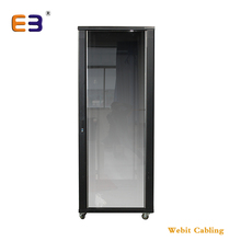 With Vented Door Frame Glass Door Max 600kgs Loading <strong>Network</strong> 19'' Rack