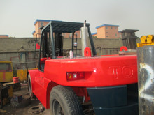 Toyota FD100 10t used forklift good working condition low price forklift for sale