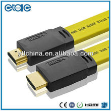 High speed flat HDMI cable,rca female to HDMI cable