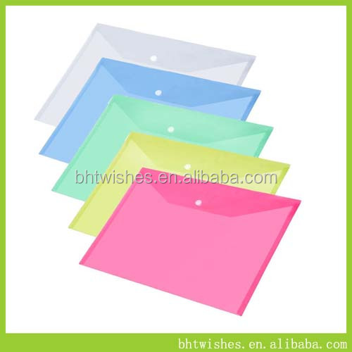 A4 Paper 10x ASSORTED PLASTIC DOCUMENT WALLETS FOLDERS