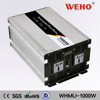 50Hz 1000w 110v 12v dc converter with charger
